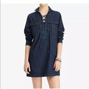 Denim & Supply Ralph Lauren Denim Lace up dress